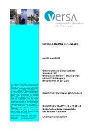 20.06.2011 Entgleisung Z66505 im Bf St. Veit an der Glan - Versa ...