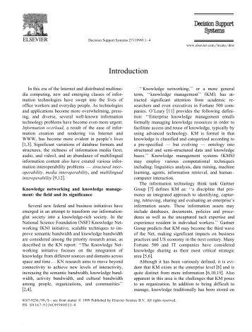 Introduction - Artificial Intelligence Laboratory - University of Arizona