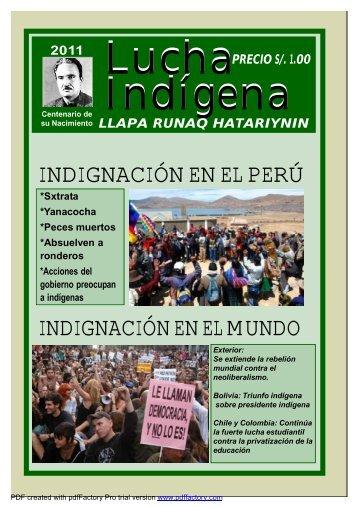 Lucha Indígena No. 63 PDF
