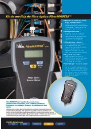 Kit de medida de fibra óptica FiberMASTER™