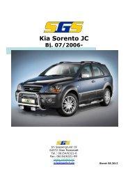 Kia Sorento JC Bj. 07/2006 - SGS