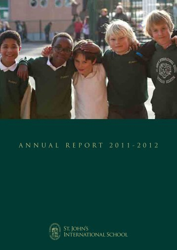 ANNUAL REPORT 2011-2012 - St. John's International School