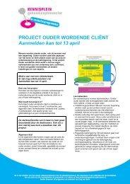 Utgebreide informatie over de leernetwerken (pdf) - Kennisplein