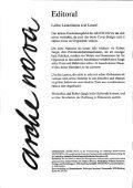 """Zur PDF Ausgabe der """"arche nova"""" - Leopold Kohr Akademie - Seite 2"""