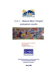to download the 3 in 1 Men's Evaluation report - Healthy Cities ...