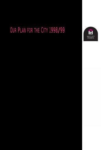 Annual plan 1998.pdf - Hutt City Council