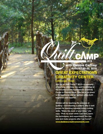 8975 -- Q-Quilt Camp 2010