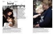 Bekijk hier de beeldreportage Borstverlenging - Borstvoeding.com