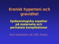 Kronisk hypertoni och graviditet - SFOG