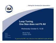 Loop Tuning – Ruel.pdf - Modeling and Control