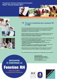 Fonction RH - AGEFOS PME Nord Picardie