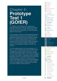 Chapter 5 - Prototype test 1 (GOfER) - University of Exeter