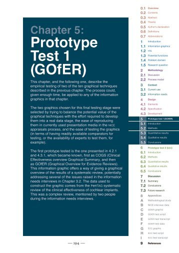 Chapter 5 - Prototype test 1 (GOfER) - University of Exeter