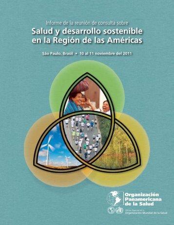 Salud y desarrollo sostenible en la Región de las Américas