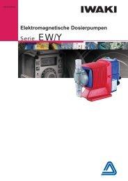 Elektromagnetische Dosierpumpen - Iwaki Europe GmbH