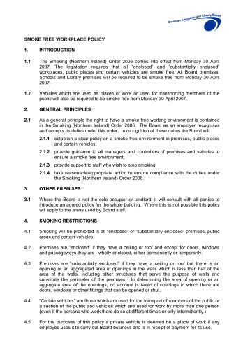 smoke free policy Smoking policy letter from bmc president and ceo kate walsh as a health care institution boston medical center (bmc view full size smoke free campus map.