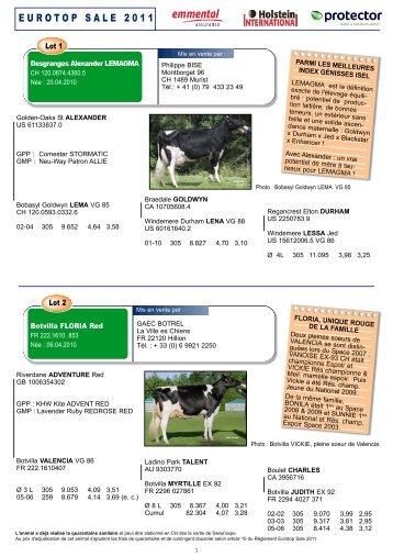 télécharger le catalogue de la vente Eurotop au format Pdf - Web-agri