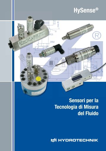 Catalogo Sensore - Hydrotechnik