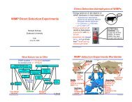 WIMP Direct Detection Experiments - Physics Learning Laboratories