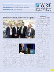 WRF_0812.pdf 4,64 MB - Wirtschaftsförderung Region Freiburg eV