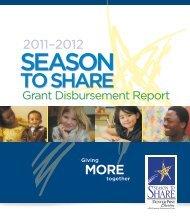 Grant Disbursement Report - McCormick Foundation