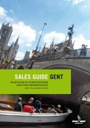 SALES GUIDE GENT - Visit Gent