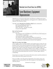 Farm Machinery Equipment Repossession - Manitoba Farm & Rural ...