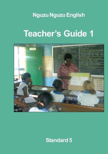 Teacher's Guide 1 - paddle