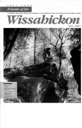 Fall 1998 Newsletter - Friends of the Wissahickon