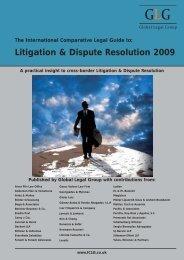 Litigation & Dispute Resolution 2009 - Best Lawyers