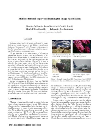 Multimodal semi-supervised learning for image classification