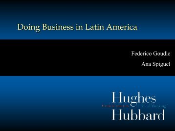 Doing Business in Latin America - Automotive Specialty Products ...