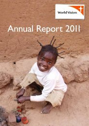 Annual Report 2011 - World Vision Institut