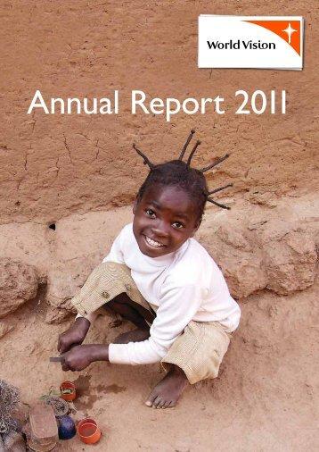 Annual Report 2011 - World Vision Institut