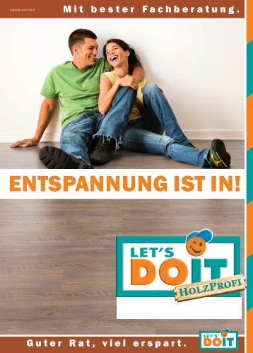 ENTSPANNUNG IST IN!
