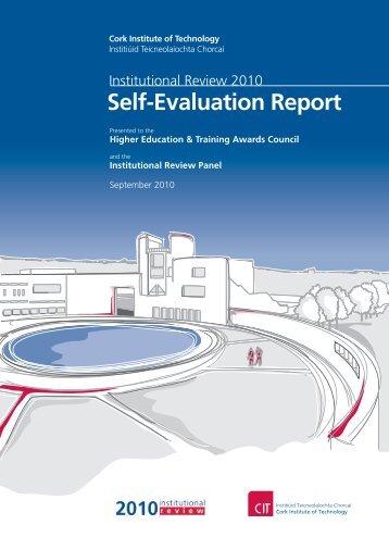 Self-Evaluation Report - HETAC