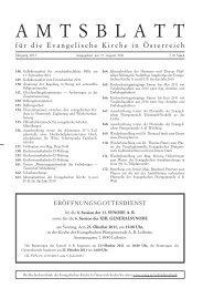 Juli/August 2011 - Das Evangelische Zentrum