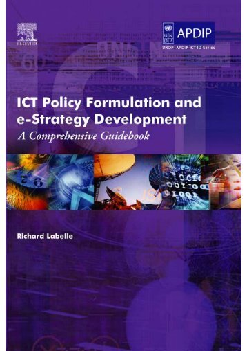 ICT Policy Formulation and e-Strategy Development: A ... - un-apcict