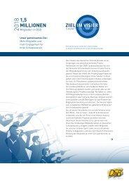 Präsidentenbrief 2011 - Ziel im Visier