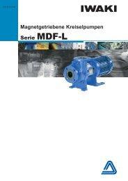 MDF-L Magnetgetriebene Pumpe für chemische Prozesse