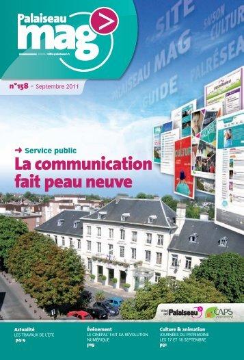 n°158 - Septembre 2011 - Ville de Palaiseau