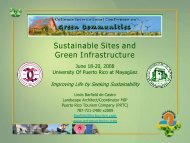 Sustainable Sites and Green Infrastructure
