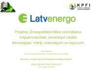 """Projekta """"Energoefektivitātes veicināšana mājsaimniecībās ..."""