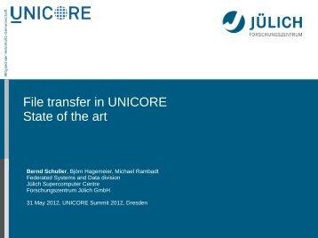 Client - Unicore