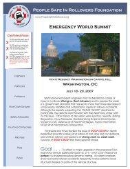 Emergency World Summit - Automotive Safety Analysis