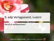 Software für Verlage und KMU - EDP-Services AG