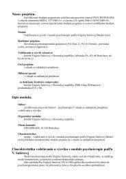 Názov projektu - Slovenská psychoterapeutická spoločnosť