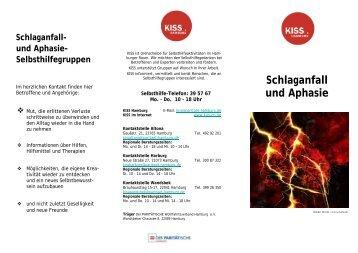 Schlaganfall und Aphasie - bei KISS Hamburg