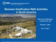 Biomass Gasification R&D Activities in North America - Wood ...