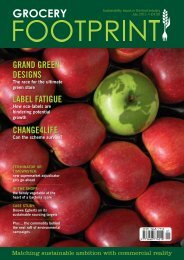 Grocery Footprint Issue 1 - Foodservice Footprint